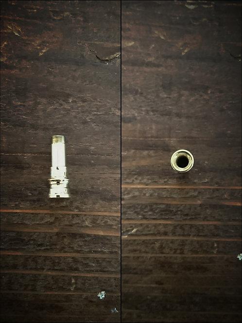 ミニ吸い口パーツ 真鍮製