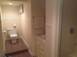 Basement Bathroom - After