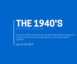 The 1940's Radio Hour auditions!