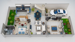 Ground Floor 3D-View