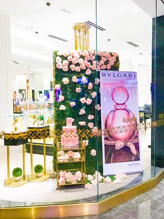 BVLGARI Luxury Retail Display