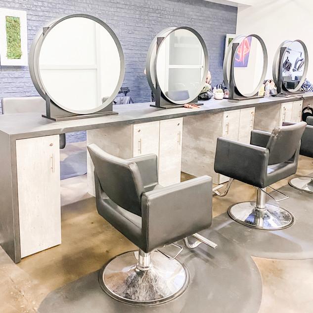 Beauty Salon Stations