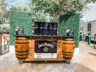 Jack Daniels Pop up retail