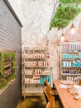 Beauty Salon Retail Display