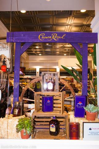 Crown Royal Retail Display