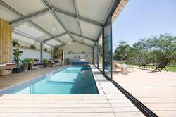 Location vacance piscine interieure