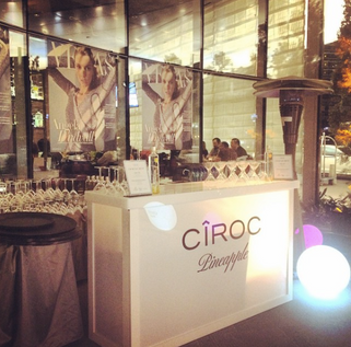 Ciroc Retail Pop up Luxury Vegas Magazine