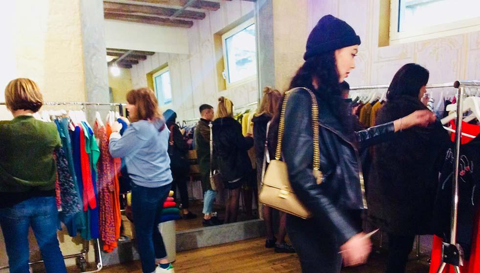 Vente événement de créateur de mode