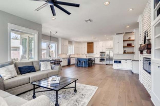 Open Concept Living Kitchen
