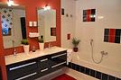 Exklusives Badezimmer in der 4-Sterne-Ferienwohnung Wetzlar Lahn Hessen