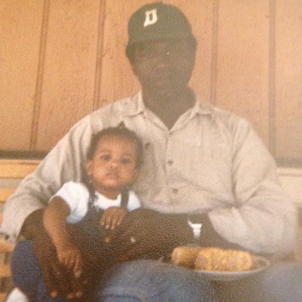 Me & Paw Paw circa 1984