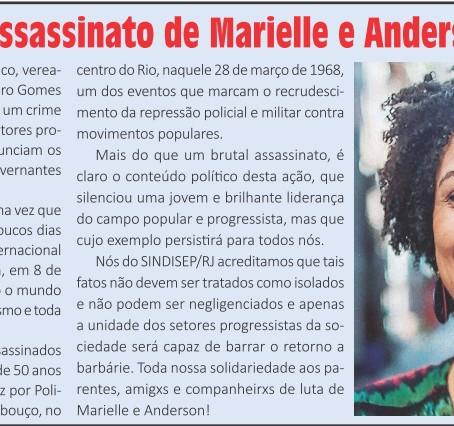 Não deixem que matem os projetos de Marielle Franco