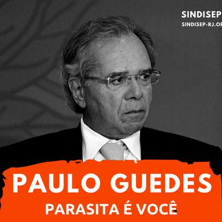 NOTA DE REPÚDIO AO MINISTRO BANQUEIRO PAULO GUEDES
