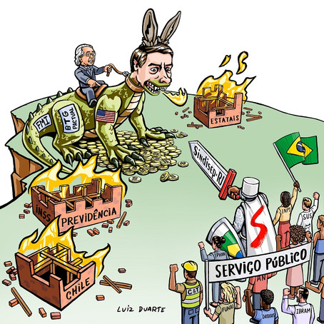 Assembleia histórica marca a posição dos servidores contra a ameaça de privatização do INPI.