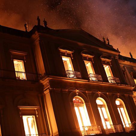 Sobre a destruição do Museu Nacional da Quinta da Boa Vista
