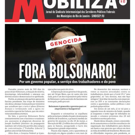 MOBILIZA VOLTOU A SER PUBLICADO ESSE MÊS