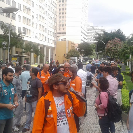 Atos unitários se espalham pela cidade