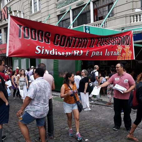 Sindisep/RJ: Em Defesa Da Democracia E Contra O Fascismo