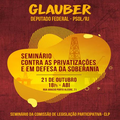 Seminário Contra Às Privatizações E Em Defesa Da Soberania