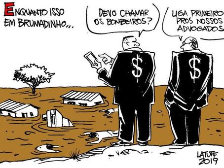 Brumadinho e o mar de lama das privatizações.