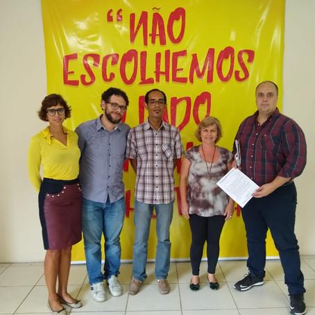 SINDISEP/RJ SE REÚNE COM GABINETE DO DEP. FEDERAL GLAUBER BRAGA