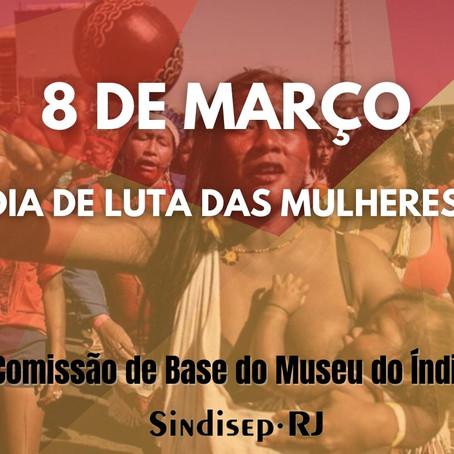 Sindisep-RJ saúda o Dia Internacional de Luta da Mulher Trabalhadora!