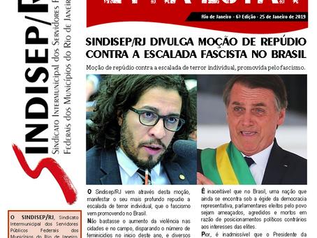 Sindisep/RJ denuncia a perseguição contra políticos progressistas!