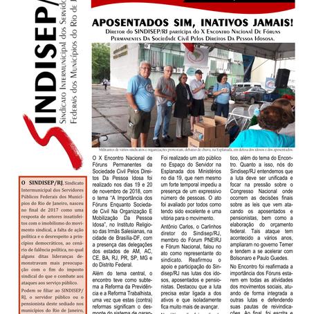 Sindisep/RJ: SINDICATO É PRA LUTAR
