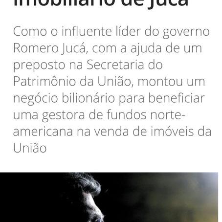Isto É denúncia (mais um) esquema de Romero Jucá (PMDB)