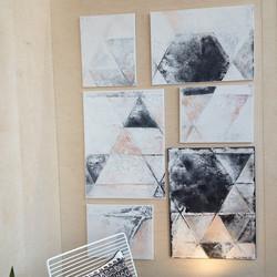 Hexagon sisustustauluryhmä