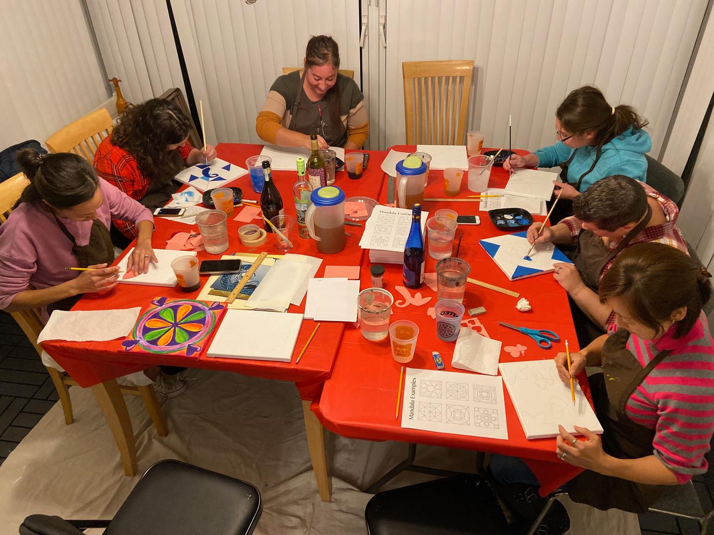 Mandala Painting Workshop