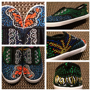 Monarch Butterfly Shoes