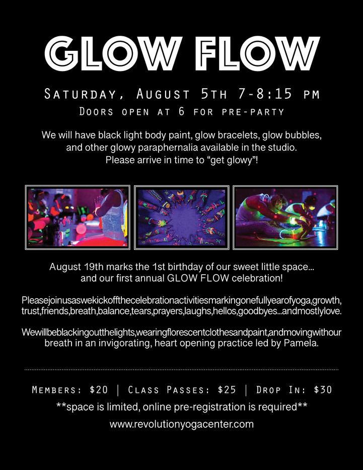 Glow Flow Flyer