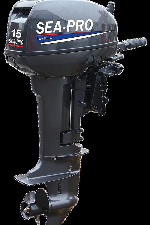 Лодочный мотор Sea Pro 2-х такт  T 15 S