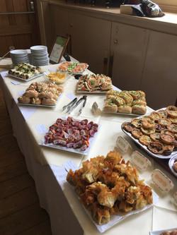 buffet selection