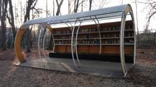 Уличная библиотека Центрального парка