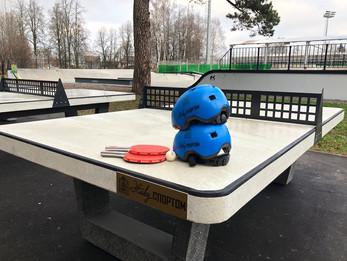В Центральном парке установлены теннисные и шахматные столы!!!