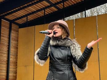 Концерт 8 марта в Центральном парке