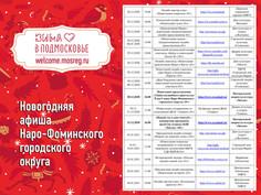 Новогодние мероприятия округа