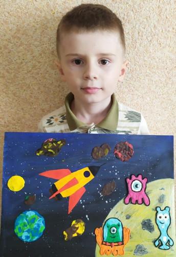 Рябчиков  Егор, 7 лет