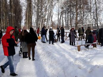 В парке прошел День защитника Отечества