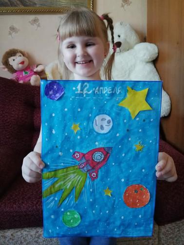 Гребенник Полина, 6 лет