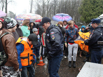 День пожарной охраны России в Центральном Парке