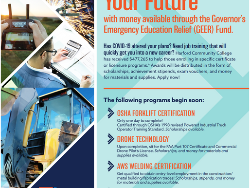 Retrain and Recreate Your Future with GEER Fund.