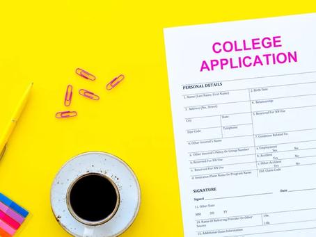 College Application Tips - Study Break