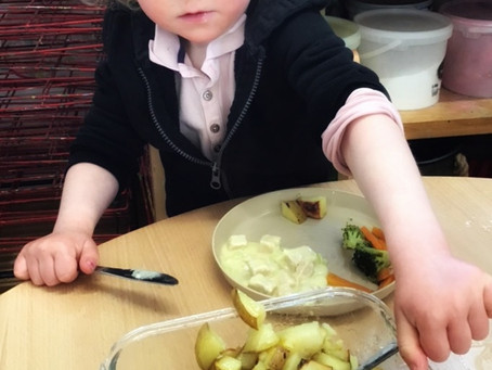 The importance of supporting independence at mealtimes