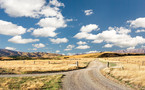 The scene that inspired the title of this collection, Empty Land. Taken from the St Bathans loop road looking north.