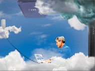 Head in the Digital Cloud