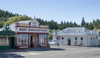 """Naseby is the """"capital"""" of the Maniototo. Once a centre for gold prospectors in central Otago, now a would-be second Arrowtown, trying hard to attract tourists with restored bits of its former self."""
