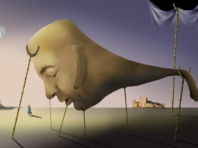 Sleep, after Salvador Dali